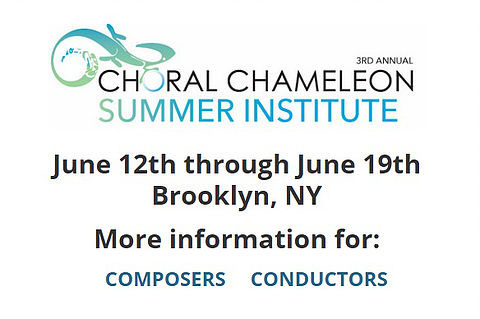Choral Chameleon Summer Institute