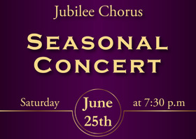 Seasonal Concert with Jubilee Chorus