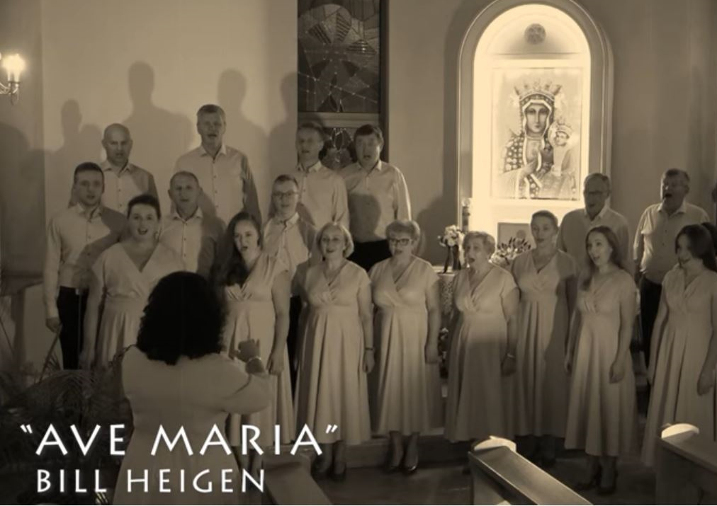 Ave Maria performed in Poland